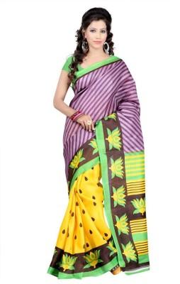 Gunjan Creation Printed Bhagalpuri Printed Silk Sari