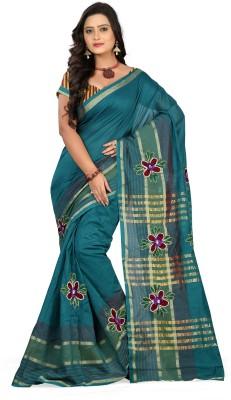 Bikaw Embriodered Bollywood Cotton Sari
