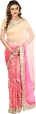 Kajal New Collection Embriodered Bollywood Pure Chiffon, Net Sari