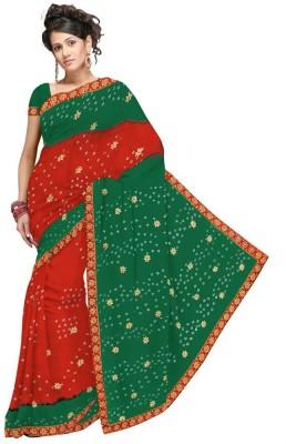 Great Art Printed Fashion Chiffon Sari