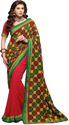 Imago Embriodered Bollywood Georgette Sari