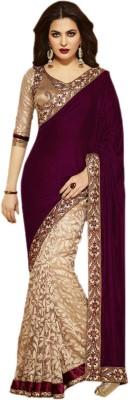 Om Sai Laxmi Creation Embriodered Bollywood Georgette Sari