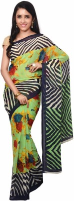 Urban Vastra Floral Print Bollywood Georgette Sari