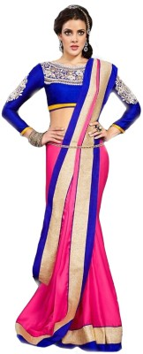 Kanha Fashionna Embellished Fashion Chiffon Sari