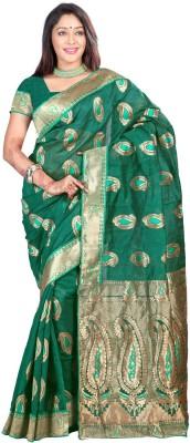 Idecore Woven Bollywood Art Silk Sari