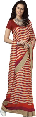 Kuberan Striped Daily Wear Georgette Sari