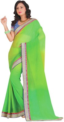 Stylobby Self Design Daily Wear Handloom Chiffon Sari