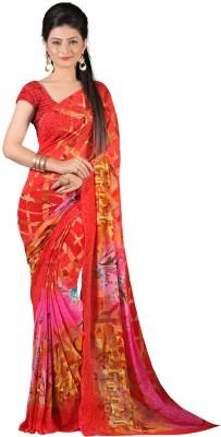 nimi fashion Printed Fashion Georgette Sari