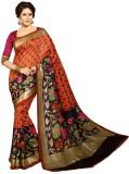 Heer Ganga Printed Fashion Art Silk Sare...