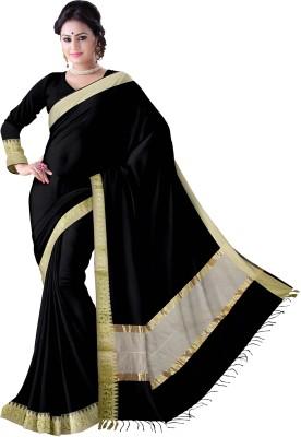 Komal Sarees Self Design, Woven Banarasi Chanderi, Art Silk Sari