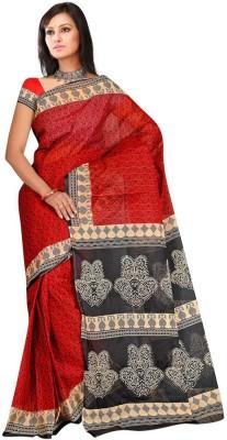 Salwar Studio Paisley Daily Wear Cotton Sari