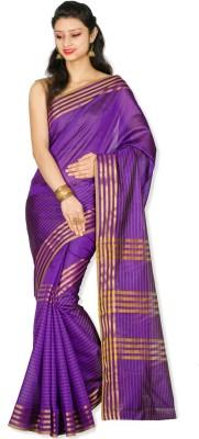 Chandrakala Striped Banarasi Art Silk Sari