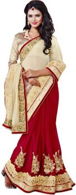 Sundari Fashion Embriodered Fashion Georgette, Georgette Sari