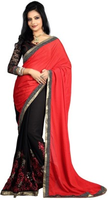 Divy Embriodered Fashion Chiffon Sari