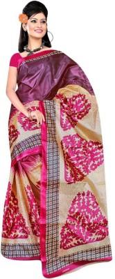 Veebee Printed Fashion Silk Sari