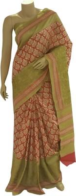 BEAUVILLE VAIIBAVAM Embriodered Fashion Tussar Silk Sari