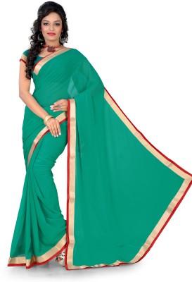 Aabha N Alia Striped Daily Wear Georgette Sari