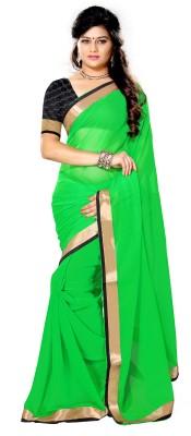 Jayanshi Solid Fashion Chiffon Sari