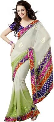 Sayonafashion Embriodered Fashion Chiffon Sari