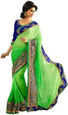 Abhaysri Fashion Embriodered Fashion Handloom Jacquard Sari