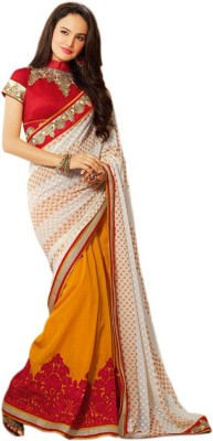 Prerana Fashion Embriodered Bollywood Georgette Sari