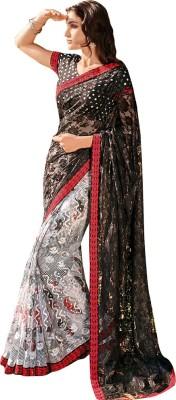 Laxmipati Embriodered Bollywood Brasso Sari