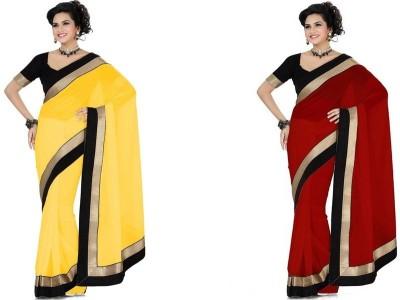 JDX Embriodered Fashion Georgette Sari