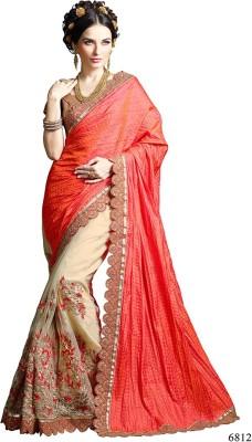 Parvati Fabrics Embriodered Fashion Tussar Silk Sari
