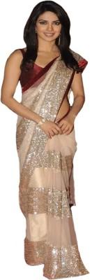 Vibha Creation Self Design Bollywood Net Sari