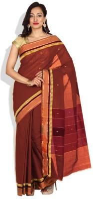 Pratami Floral Print Fashion Handloom Cotton Sari
