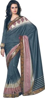 Fashion Graphic Print Fashion Art Silk Sari