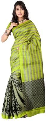 DIVINEFASHIONSTUDIO Printed Fashion Cotton Sari