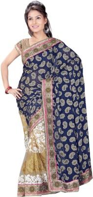 Ranas Fashion74 Self Design Fashion Brasso, Net Sari