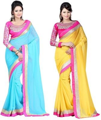 Bollywood Designer Self Design Bollywood Pure Chiffon Sari