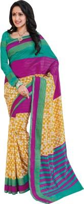 Vastrangsarees Printed Bhagalpuri Art Silk Sari