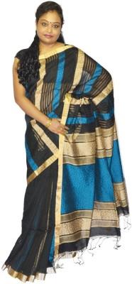 Fashion Gallery Self Design Tangail Silk Cotton Blend Sari