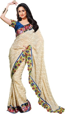 Idha Embriodered Fashion Jacquard Sari