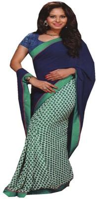 Saloni Printed Bollywood Synthetic Georgette Sari