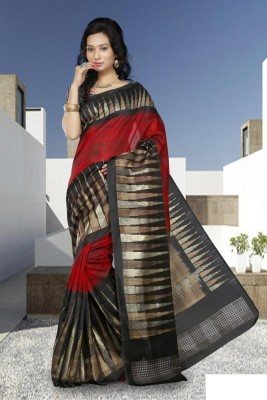 Cutie Pie Self Design Bhagalpuri Art Silk Sari