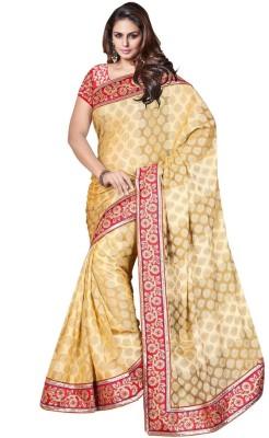 Vishala Fashion Embriodered Fashion Art Silk Sari