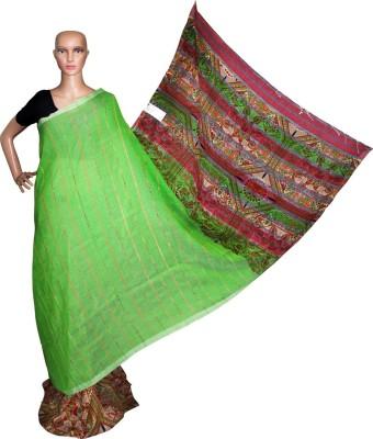 Prateeti Printed Fashion Handloom Cotton Sari