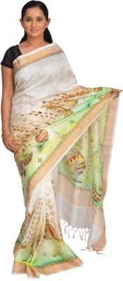 Siri Arts Printed Arani Pattu Handloom Silk Sari