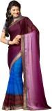 Inddus Printed Fashion Chiffon Saree (Bl...
