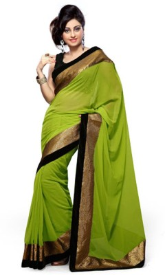 Lovit Embriodered Bollywood Georgette Sari