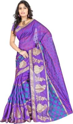 Indi Wardrobe Woven Banarasi Banarasi Silk Sari