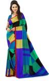 AJS Applique Fashion Art Silk Saree (Mul...