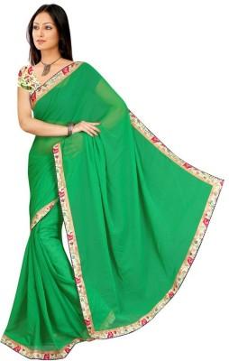 Aaradhya Fashion Printed Fashion Chiffon Sari