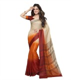 Suvastram Printed Fashion Art Silk Saree...