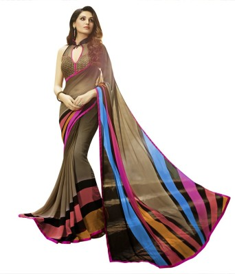 Patiala House Embriodered Bollywood Georgette Sari