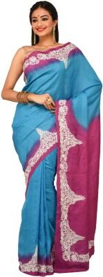 Sudeshnasboutique Embriodered Fashion Handloom Tussar Silk Sari